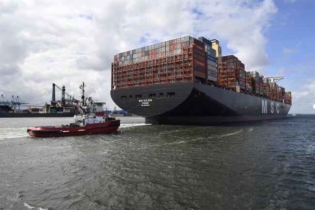 زرگترین کشتیهای کانتینری دنیا