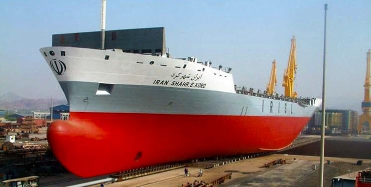 کشتی کانتینربر ایران اراک ساخت ایزوایکو