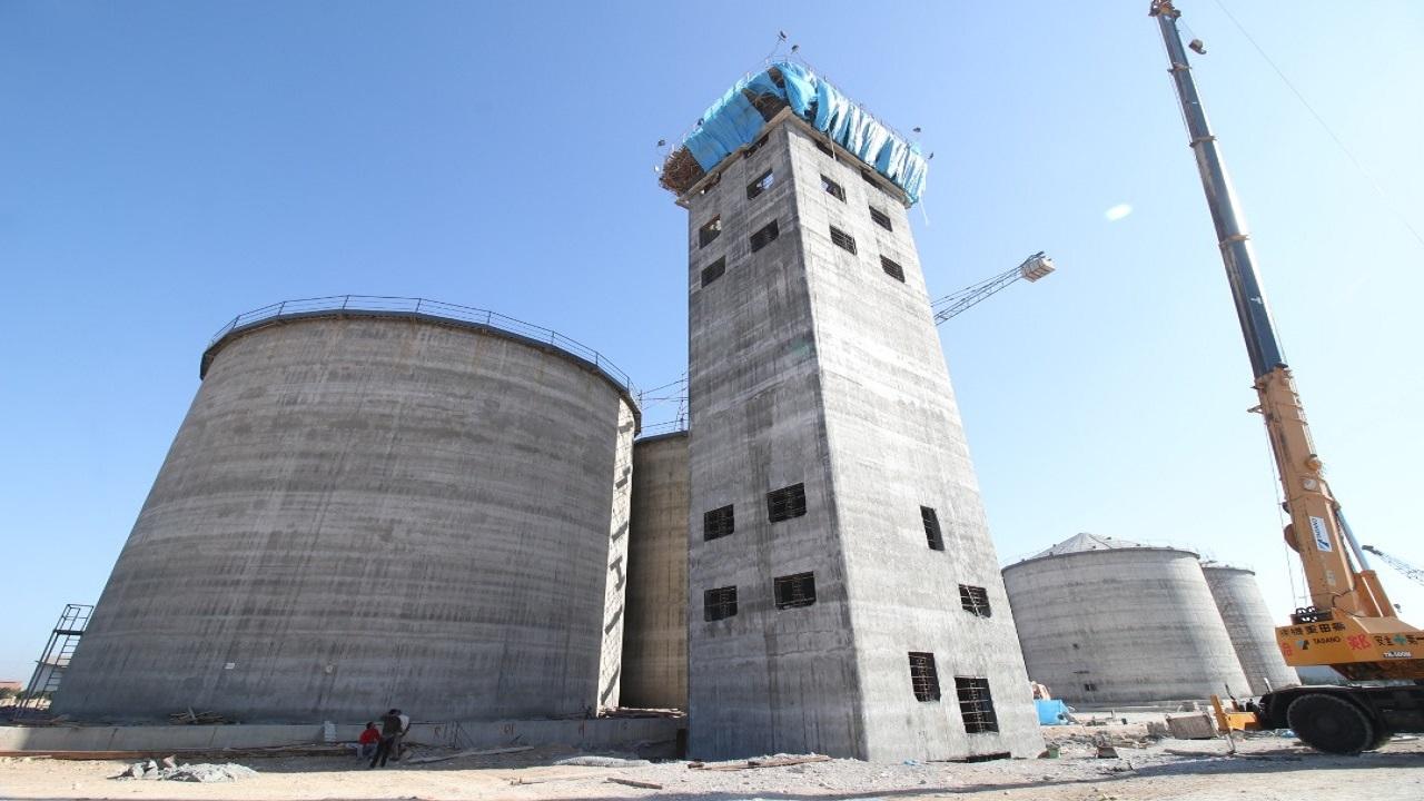 احداث برج کار سیلوی غلات در بندر امام
