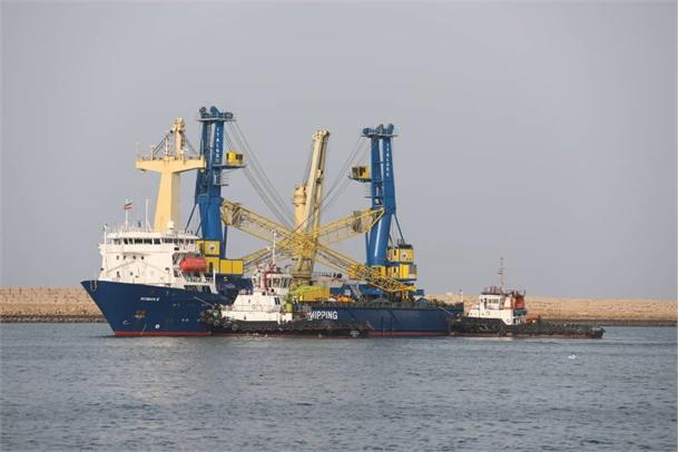 دومین کشتی حامل تجهیزات استراتژیک هندی وارد بندر چابهار شد