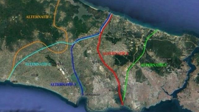 ترکیه در تدارک احداث کانال عظیم استانبول