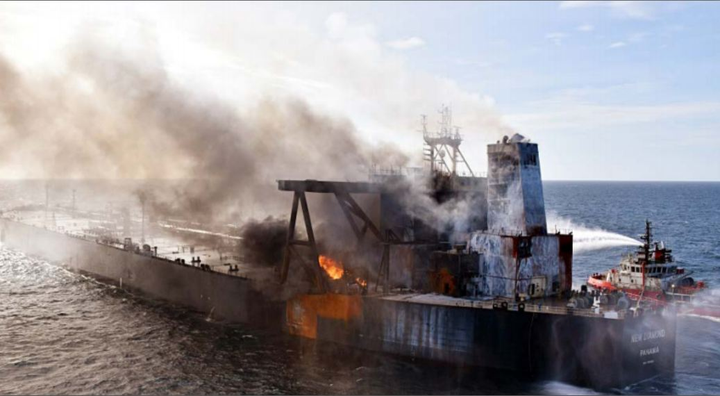 کاهش حوادث و تصادفات دریایی جهان در دوران کرونا