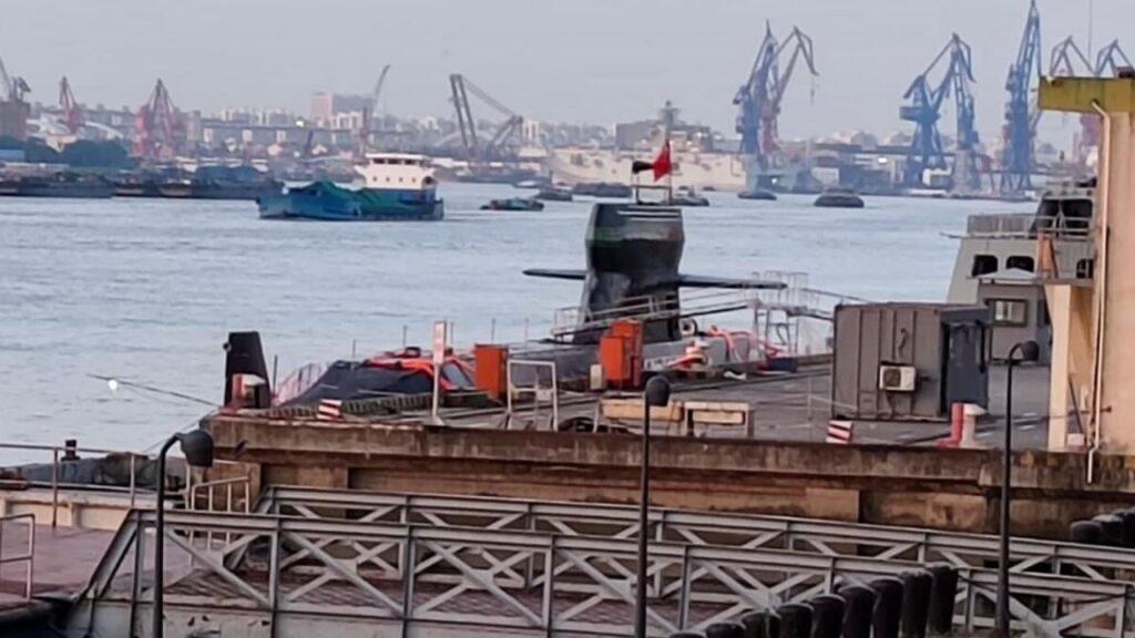 زیردریایی جدید در چین