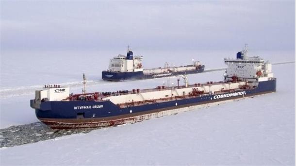 افزایش ،تردد کشتی های روسیه ، قطب شمال ، مسیری جایگزین