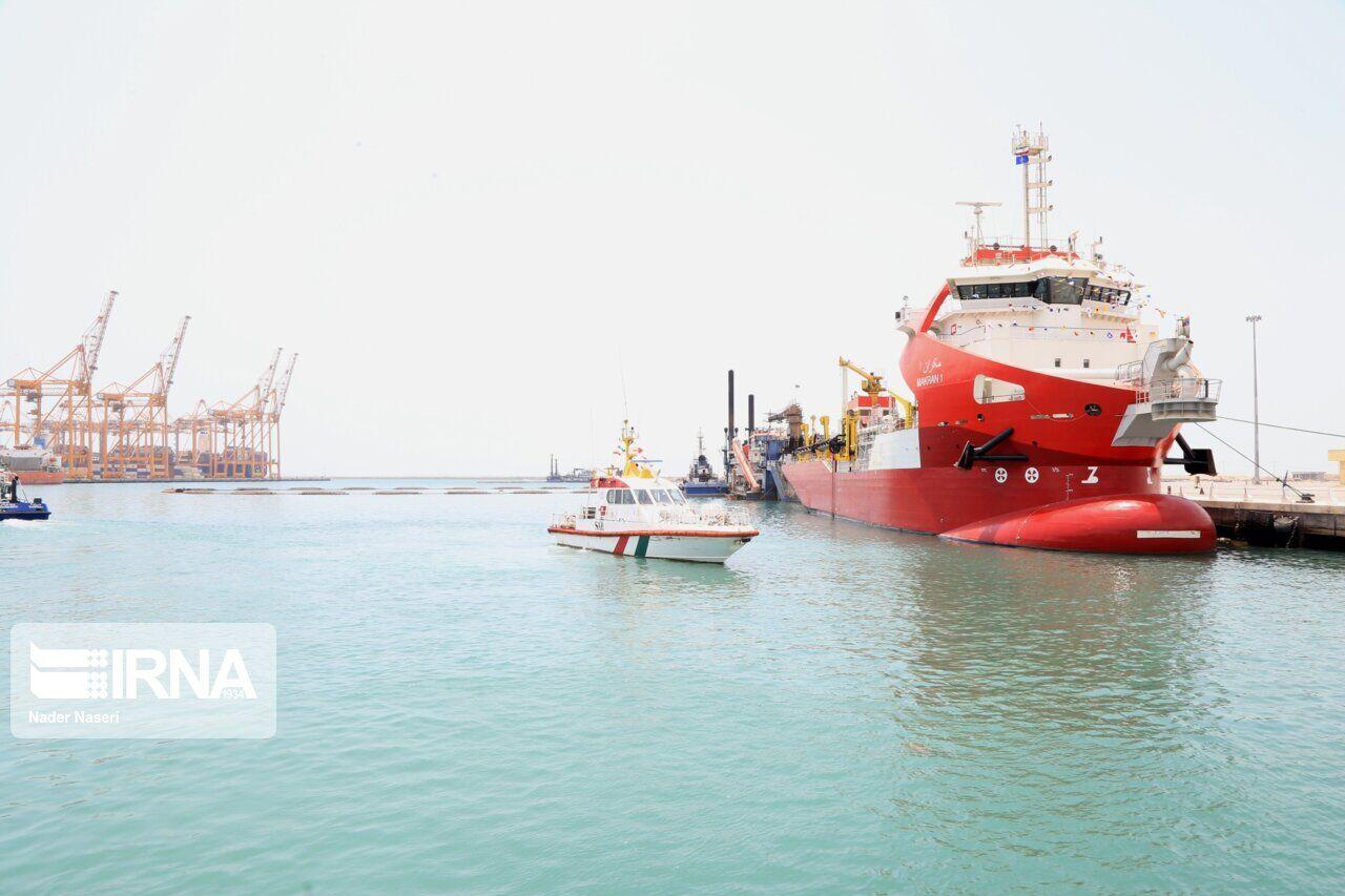 شکستن حلقه تحریم با تجهیز ناوگان دریایی بندرشهید رجایی