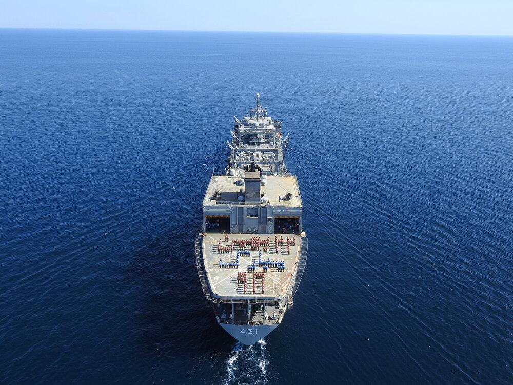 حضور ناوگروه ارتش در رژه دریایی روسیه اقتدار ایران را به رخ جهانی