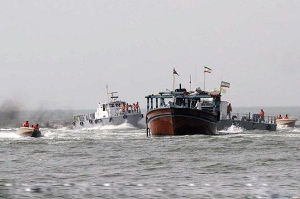 هشت قایق صیادی متخلف در ماهشهر توقیف شدند
