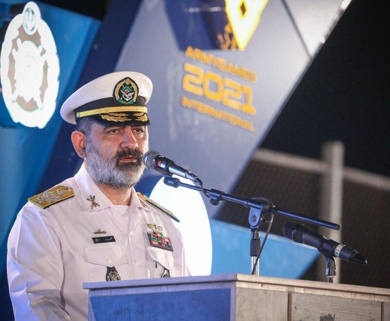 اولین نشست خبری فرمانده جدید نیروی دریایی ارتش آغاز شد