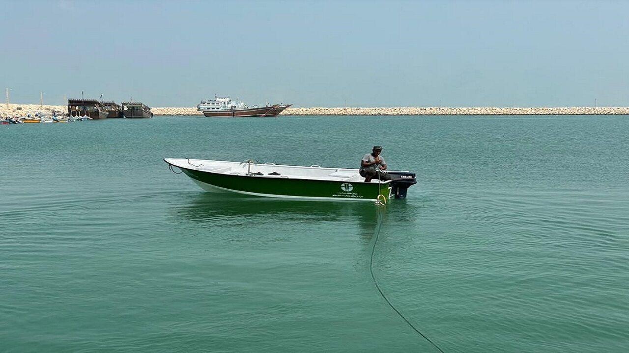 یگان محیط زیست بوشهر صاحب چهار قایق شد