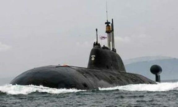 زیردریایی اتمی هند در حالت عملیاتی قرار گرفت