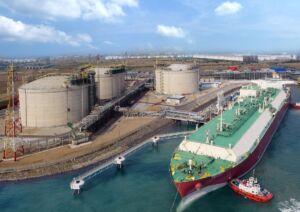 صنعت بانکرینگ کشتی در بندر سنگاپور