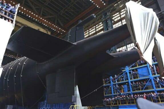 """زیردریایی هستهای """"کنیاز اولگ"""" دسامبر وارد ناوگان روسیه میشود"""