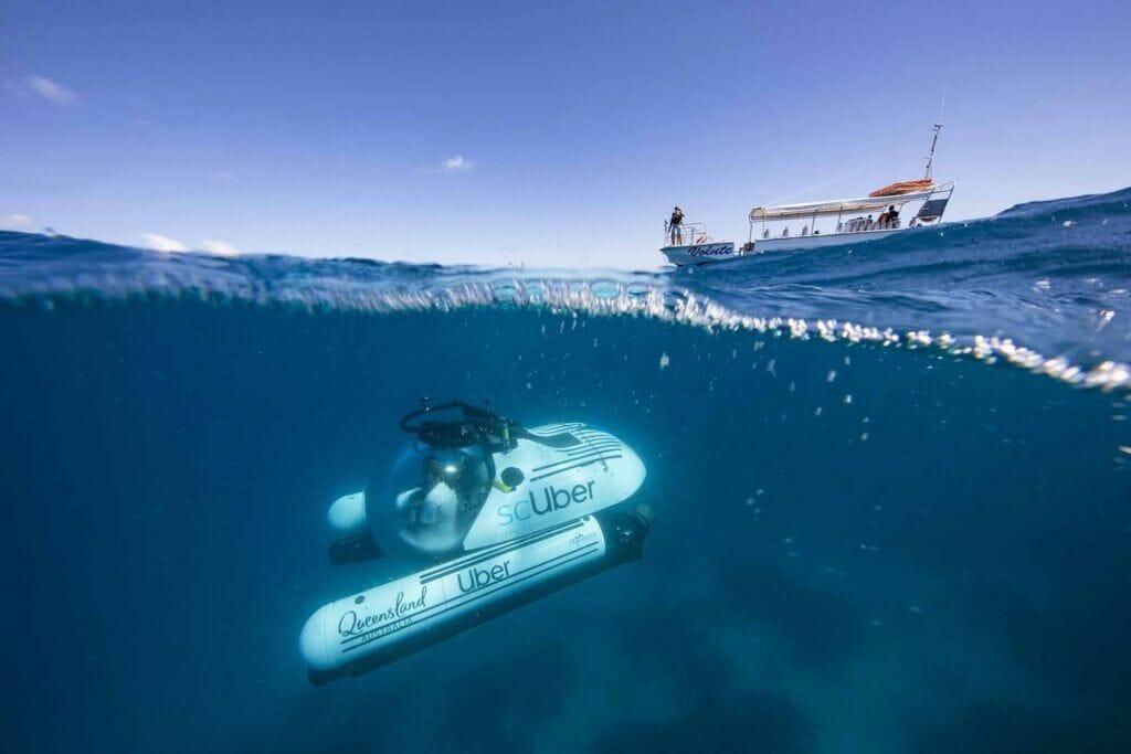 زیردریایی تفریحی و گردشگری scUber