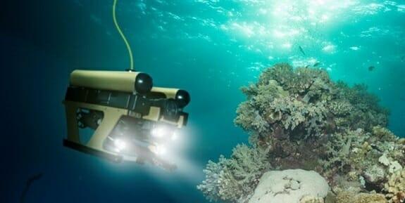 ربات زیردریایی rov و auv