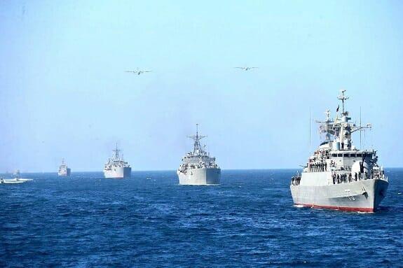 قدرت نیروی دریایی ایران