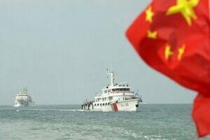 رقابت دریایی چین و آمریکا