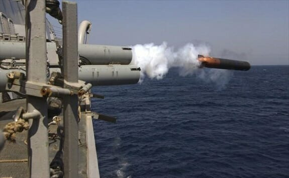 «حوت» پرسرعتترین اژدر آماده صید ناوهای آمریکایی در خلیج فارس