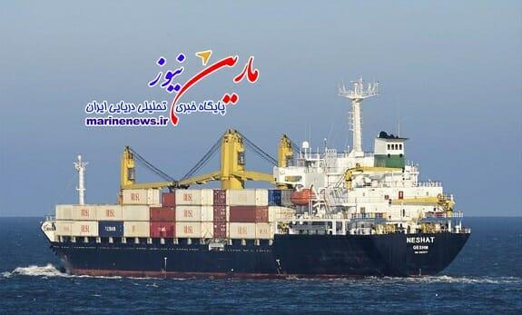 افتتاح مسیر دریایی هندوستان-قشم