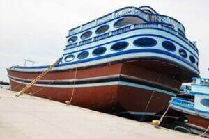 ثبت شناور بزرگترین لنج فایبرگلاس خلیجفارس ایران
