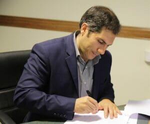 سعید وفاپور مدیرعامل شرکت مهندسی و ساخت تاسیسات دریایی