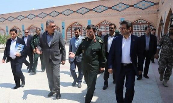 توسعه همکاریهای سازمان بنادر و نیروی دریایی سپاه