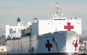 کشتی بیمارستان دریایی USNS MERCY
