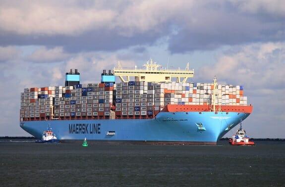 شرکت کشتیرانی مرسک هزینه حمل بار در خلیج فارس را افزایش میدهد