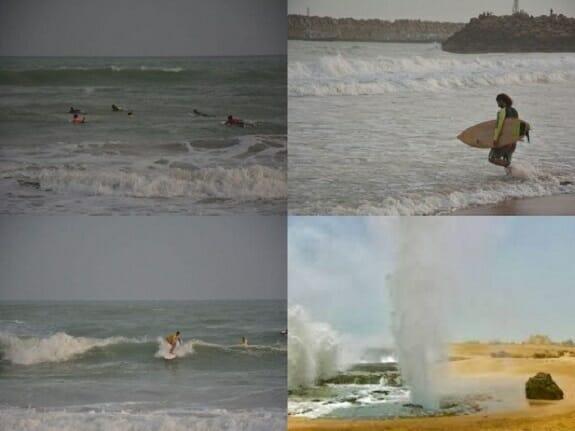 مونسون؛ شاهکار طبیعت در چابهار/ بهترین زمان موج سواری در سواحل مکران فرا رسید