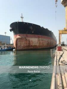 داکینگ چهارمین نفتکش غول پیکر دنیا در ایزوایکو