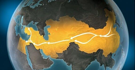 ایران در کجای راه ابریشم جدید قرار دارد
