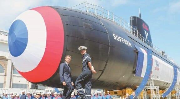 رونمایی نیروی دریایی فرانسه از زیردریایی جدید