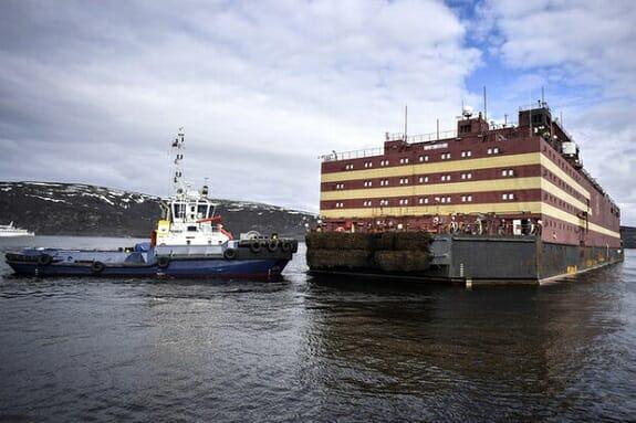 روسیه نیروگاه هستهای شناور روانه قطب میکند