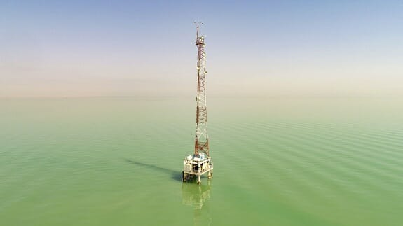 رادارهای کنترل ترافیک دریایی در بندر امام (ره)