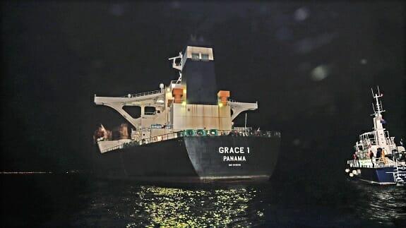 توقیف نفتکش گریس1