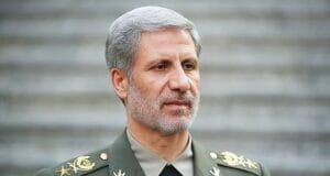 امیر سرتیپ حاتمی - وزیر دفاع و پشتیبانی نیروهای مسلح
