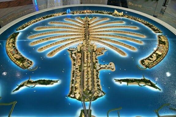 رونمایی از بزرگترین جزیره ساخت بشر در دوبی+تصاویر
