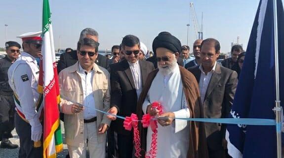 افتتاح ۲ فروند اسکله ویژه سوخت گیری شناورها در بندر لنگه