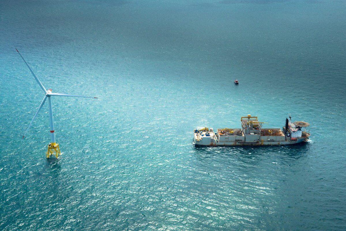 توربین بادی دریایی فراساحل آمریکا