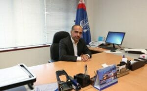 علی اکبر مرزبان مدیرکل امور دریانوردان و سازمانهای تخصصی بینالمللی سازمان بنادر و دریانوردی