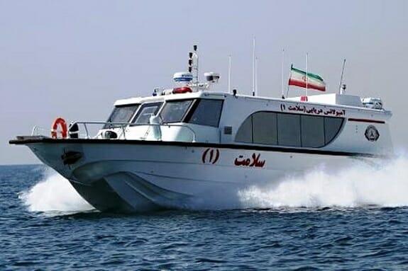 قایق و اورژانس آمبولانس دریایی سلامت