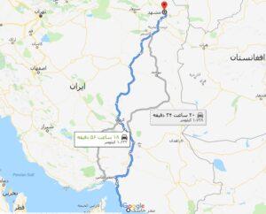 آزادراه بندر جاسک مشهد