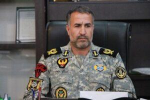 میر سید مرتضی درخوران فرمانده تکاوران دریایی نیروی دریایی ارتش