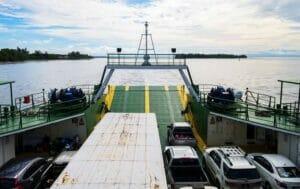 اهمیت اسکله و رمپ های کشتی های رو رو