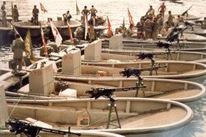 تشکیل اولیه نیروی دریایی سپاه در دوران دفاع مقدس