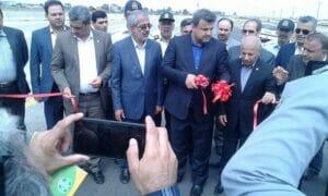 جرثقیل موبایل ساحلی در بندر امیرآباد
