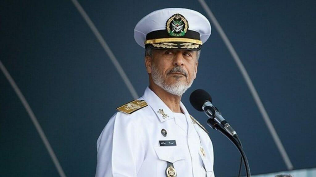 دریادار سیاری معاون هماهنگ کننده ارتش