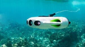 زیر دریایی هدایت شونده چینی با زوم 6 برابر برای اکتشاف دنیای زیر آب