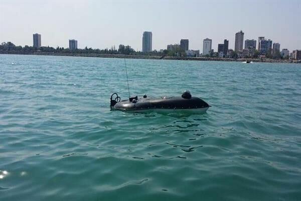 ساخت شناور دریایی بدون سرنشین با کاربری هیدروگرافی