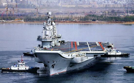 ناو-هواپیمابر-Liaoning-چین
