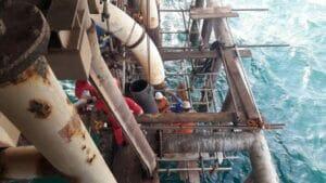 پایان چهار پروژه دریایی مهم تعمیراتی، بازسازی و نوسازی در منطقه عملیاتی سیری شرکت نفت فلات قاره ایران